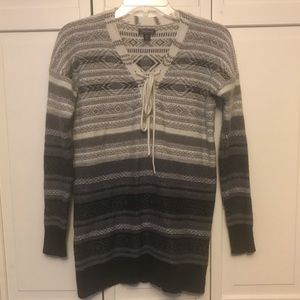 Lucky Brand Ombré Striped Sweater